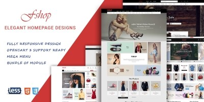 fShop - Multipurpose eCommerce OpenCart Theme