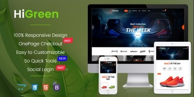 HiGreen - Multipurpose OpenCart Theme