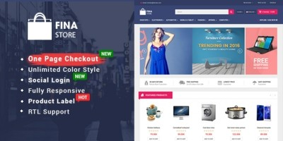So Fina - Multipurpose eCommerce OpenCart Theme