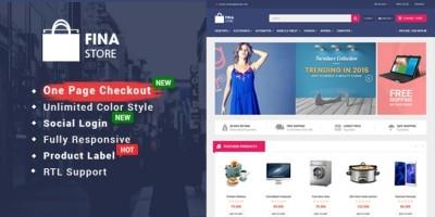 So Fina - Multipurpose eCommerce OpenCart Theme