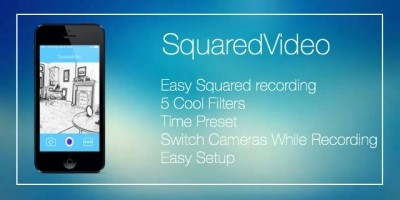 SquaredVideo - iOS Video Recording App Source Code