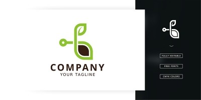Digital Seed Logo Template