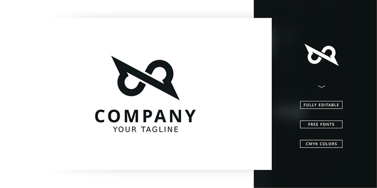 Infinity Line Logo Template