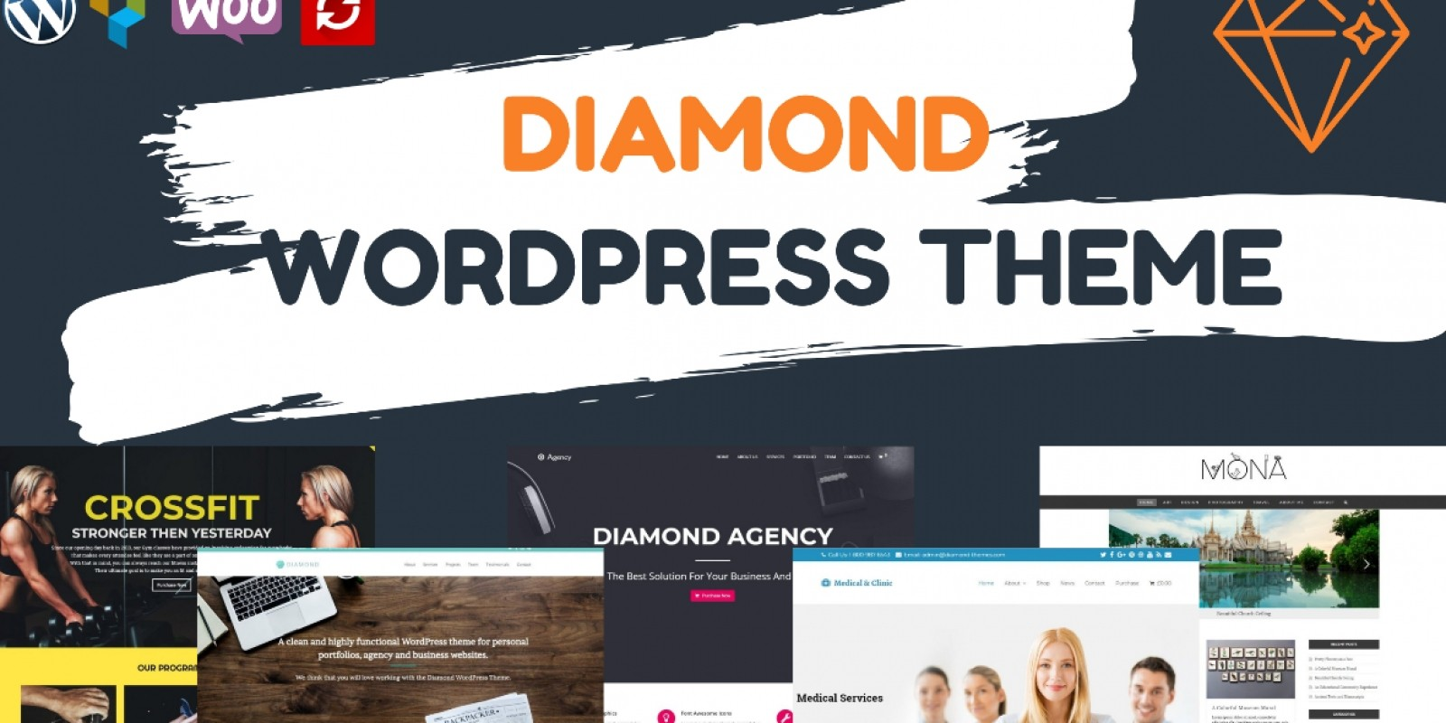 Diamond Multipurpose WordPress Theme