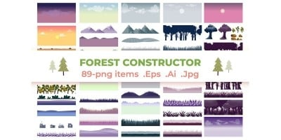 Forest Background Constructor