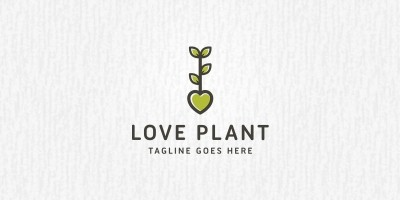 Love Plant - Logo Template