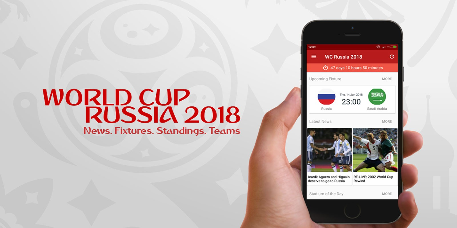 World Cup Russia 2018 Android Source Code