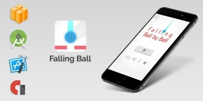 Falling Ball - Buildbox Game Template
