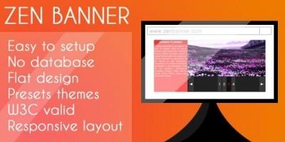 ZEN Banner PHP