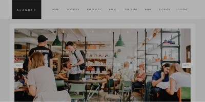Avander WordPress Theme