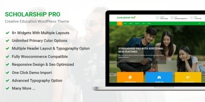 Scholarship Pro WordPress Theme