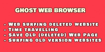 Ghost Web Browser .NET