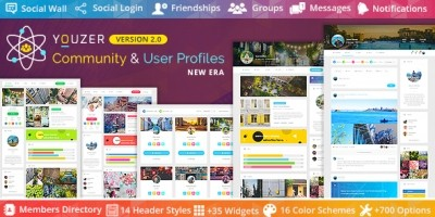 Youzer - Buddypress Community And User Profiles