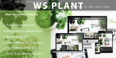 WS Plant - Responsive Garden WooCommerce