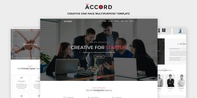 Accord - Creative One Page Multipurpose Template