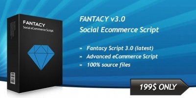 Fantacy Social eCommerce PHP Script