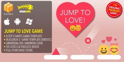 Jump To Love - BuildBox Game Template
