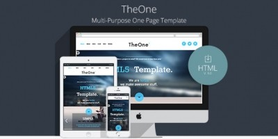 TheOne - Multipurpose Business HTML Template
