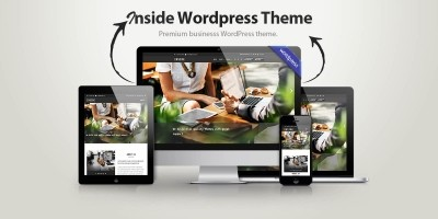 Inside Multipurpose Business WordPress Theme