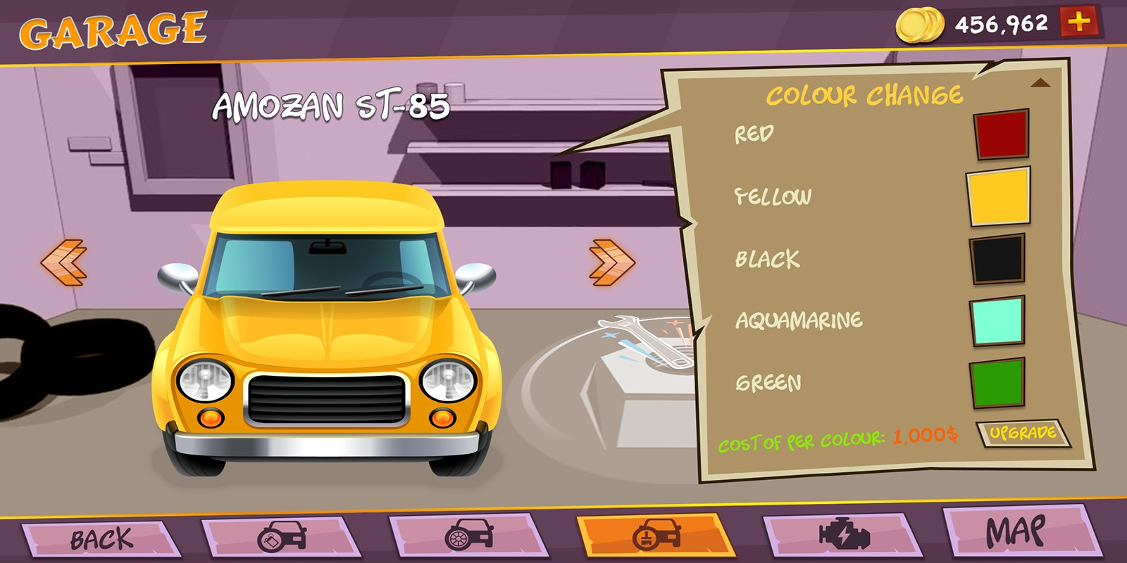 Racing Game Graphics CxS - GUI Skin 1