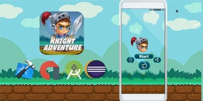 Knight Adventure Buildbox Template
