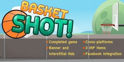 Basket Shot - Corona App Source Code