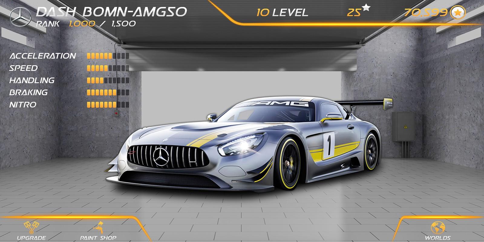 Racing Car Game UI Template Pack 4