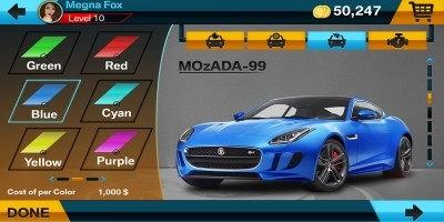 Racing Game Graphics CxS - GUI Skin 4