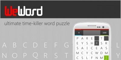 WeWord Puzzle - Corona App Source Code