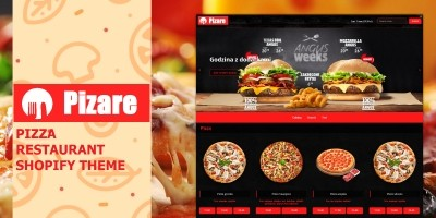 Pizare - Shopify Pizza Restaurant Theme