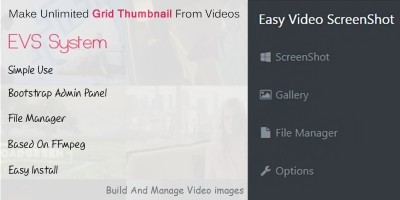 EVS - Easy Video ScreenShot PHP