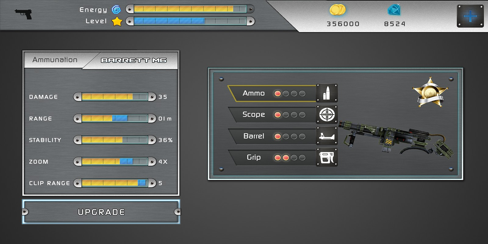 Action Shooting UI 2