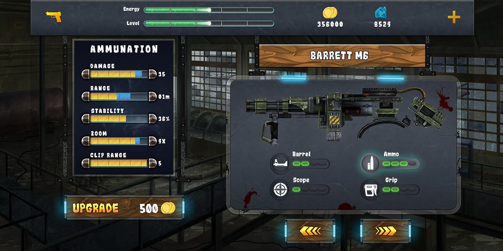Action Shooting UI 5