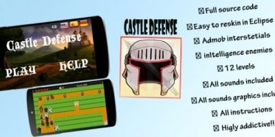 Castle Defense - Android Game Source Code
