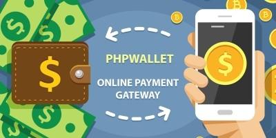 phpWallet - Online Payment Gateway PHP Script