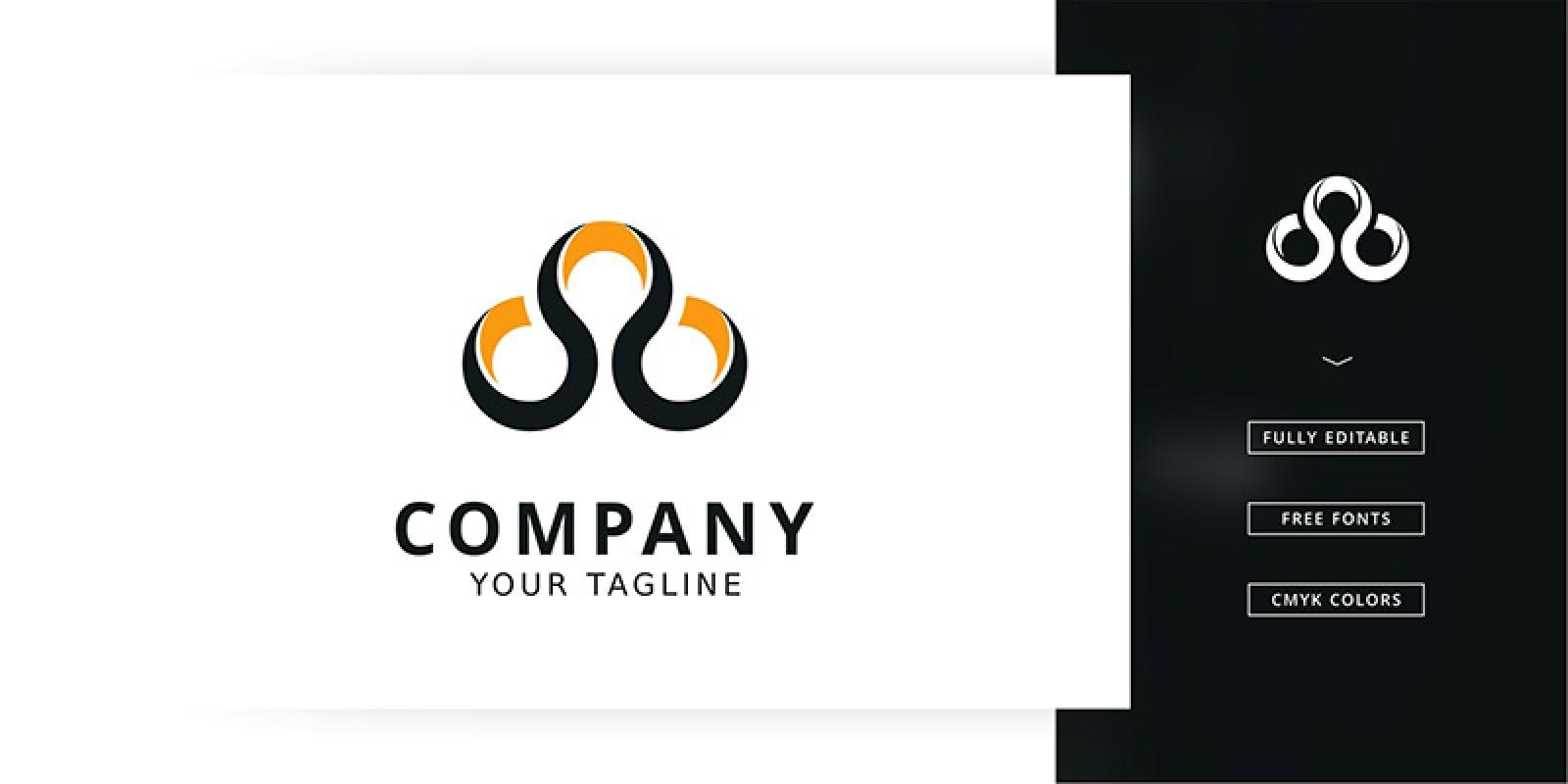 Circle Three Logo Template