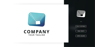 Fusion Box Logo Template
