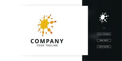 Sun Splash Logo Template