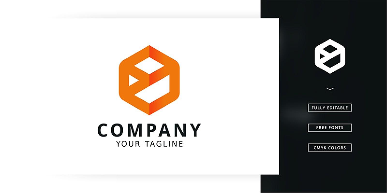 Yo Cube Logo Template