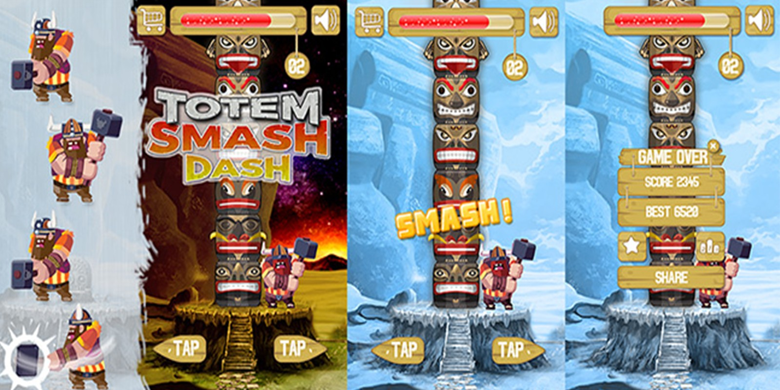Totem Smash Dash Unity Project