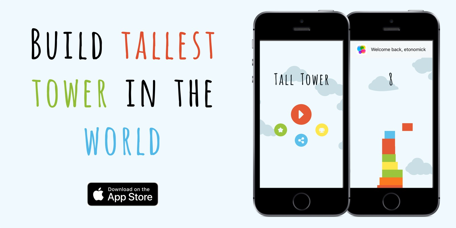 Tall Tower - iOS Game Source Code