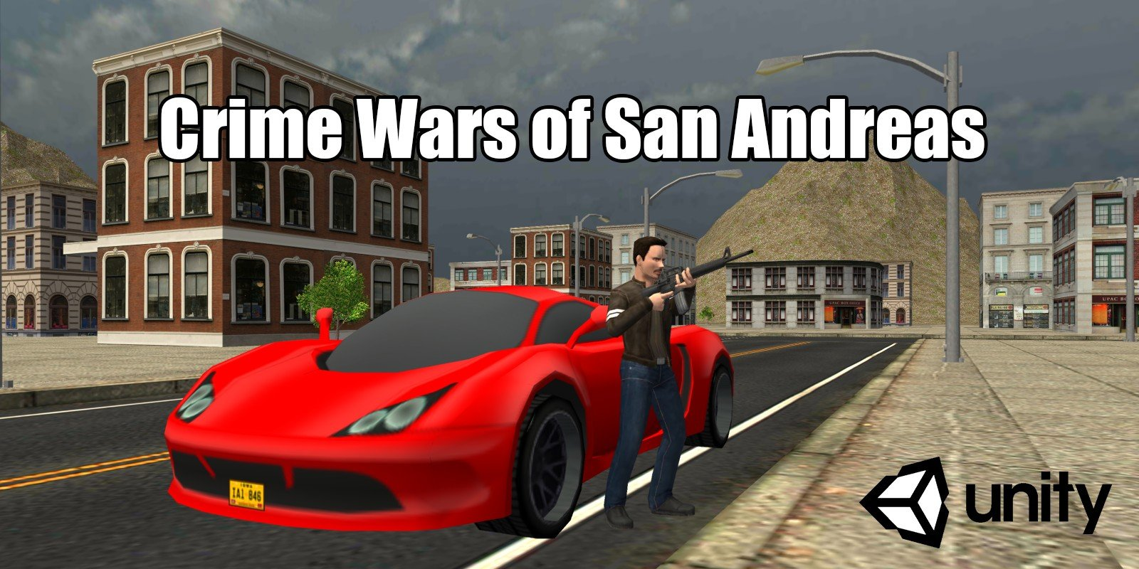 Crime Wars of San Andreas - Unity GTA Game