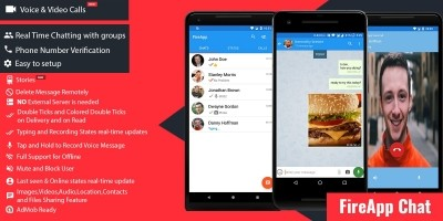 FireApp Chat - Firebase Android Source Code