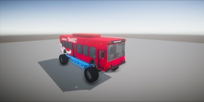 Monster Bus 3D Model