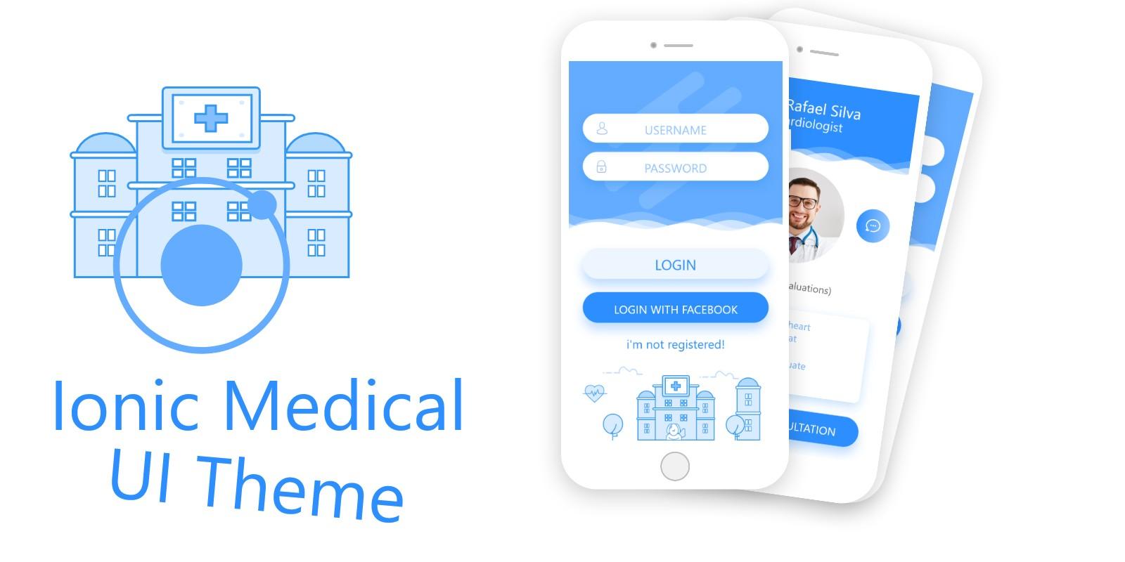 Ionic Medical UI Theme