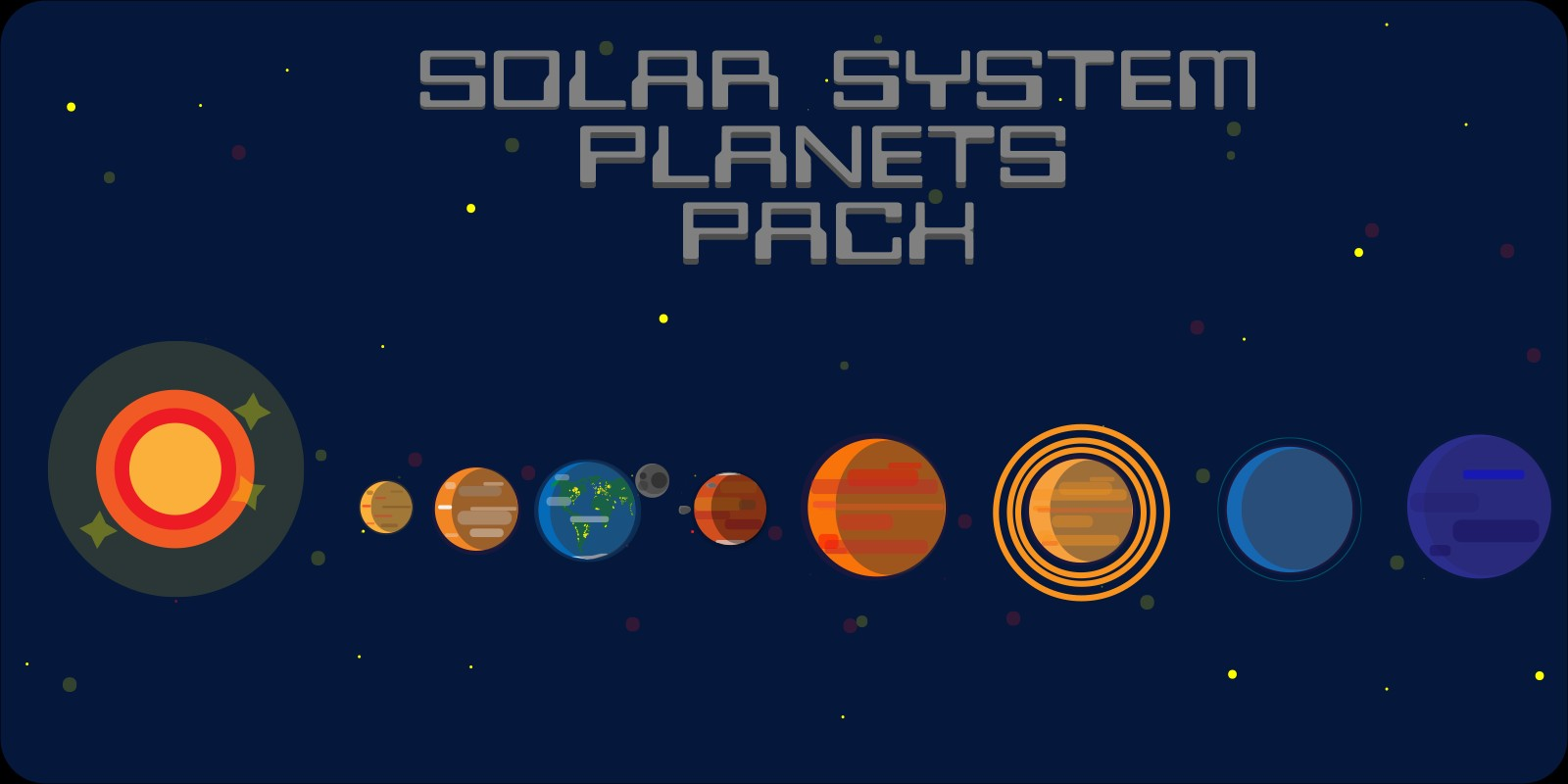 Solar System Planets Pack