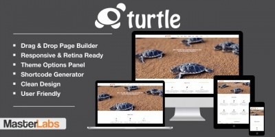 Turtle - Responsive Wordpress Theme