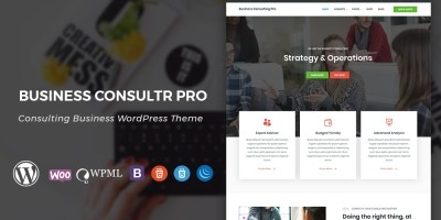 Business Consultr Pro WordPress Theme