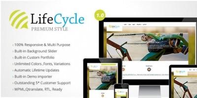 LifeCycle Premium Multipurpose WordPress Theme