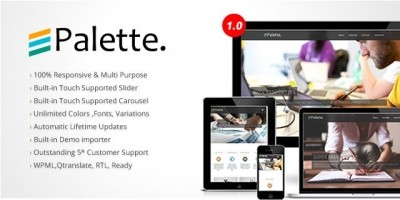 Palette Premium Multipurpose WordPress Theme